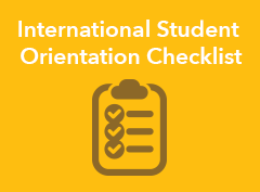 InternationalStudent-CheckList
