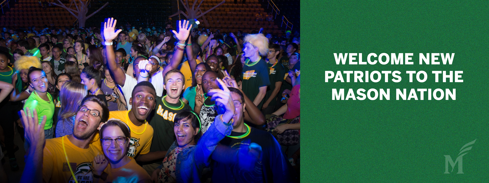 Welcome to the Mason Nation new Patriots!